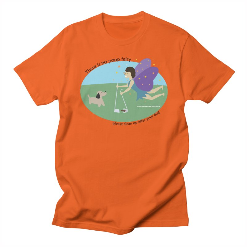 There Is No Poop Fairy Men's T-Shirt by chicago park district's Artist Shop