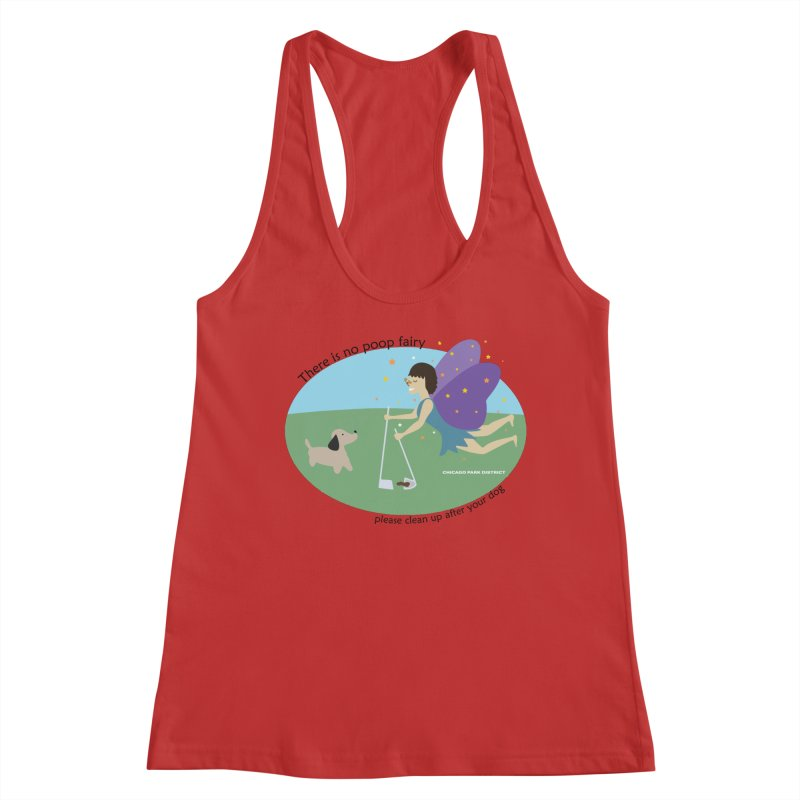 There Is No Poop Fairy Women's Tank by chicago park district's Artist Shop