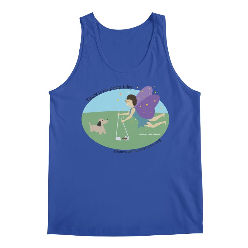 There Is No Poop Fairy Men's Tank by chicago park district's Artist Shop