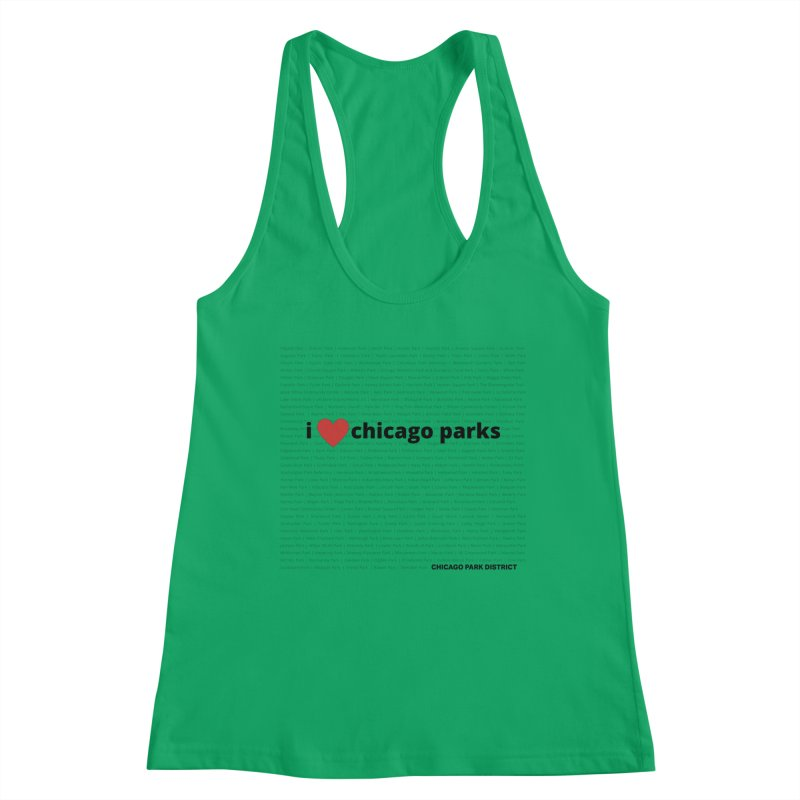 I Heart Chicago Parks Women's Tank by chicago park district's Artist Shop