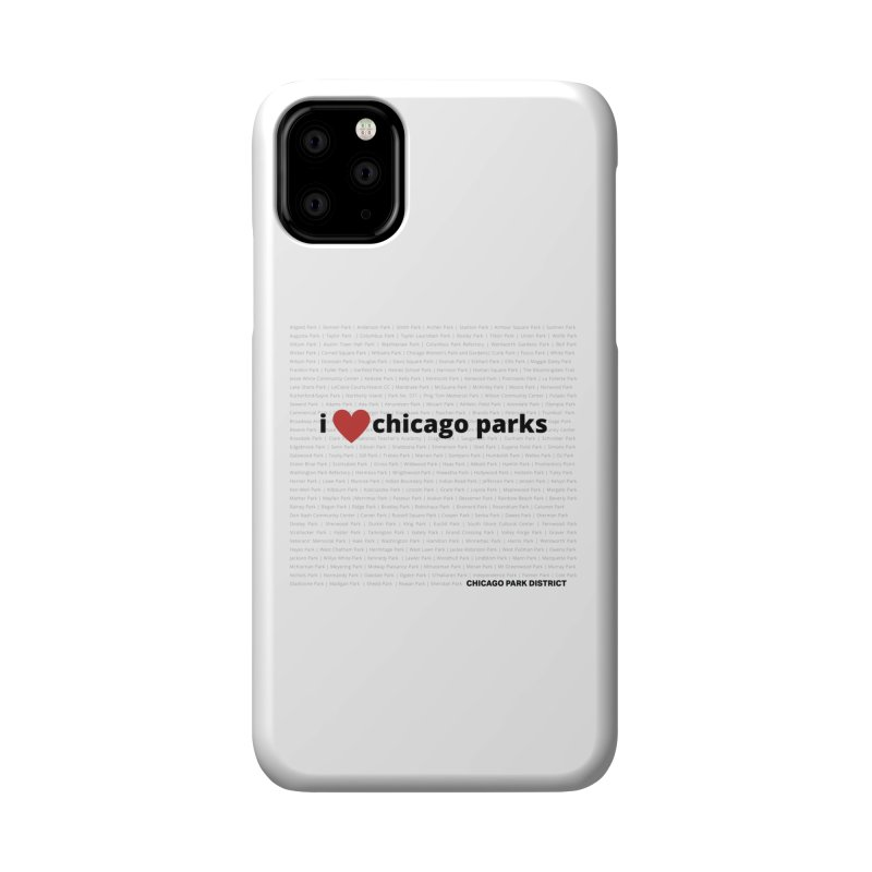 I Heart Chicago Parks Accessories Phone Case by chicago park district's Artist Shop