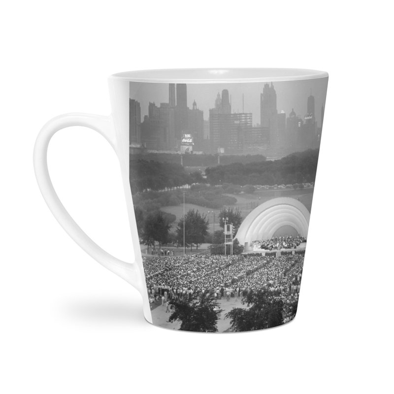 Vintage: Grant Park Concert 1954 Accessories Mug by chicago park district's Artist Shop