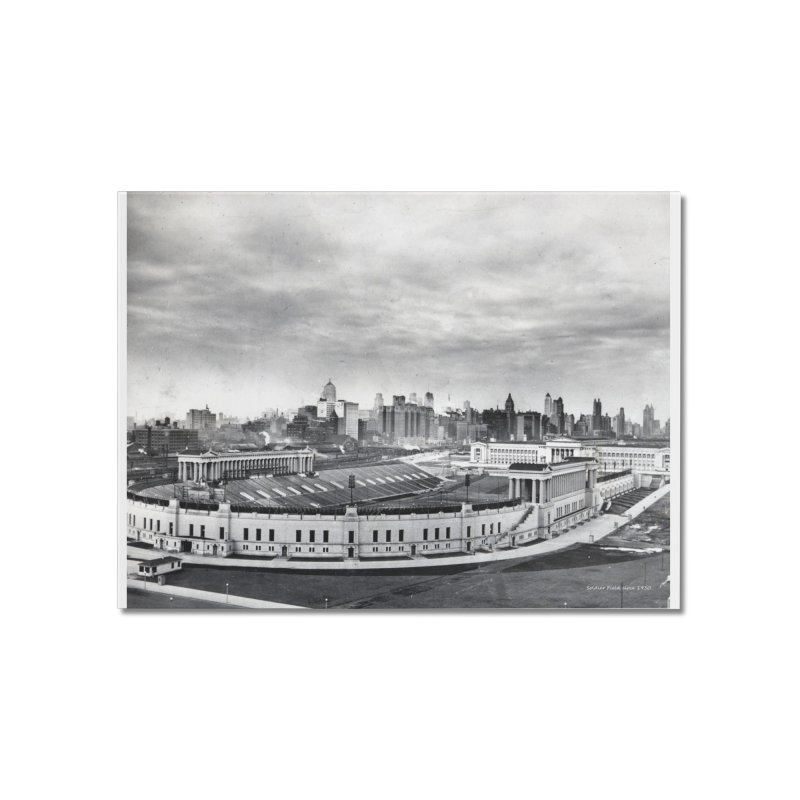 Vintage: Soldier Field circa 1930 Home Mounted Acrylic Print by chicago park district's Artist Shop