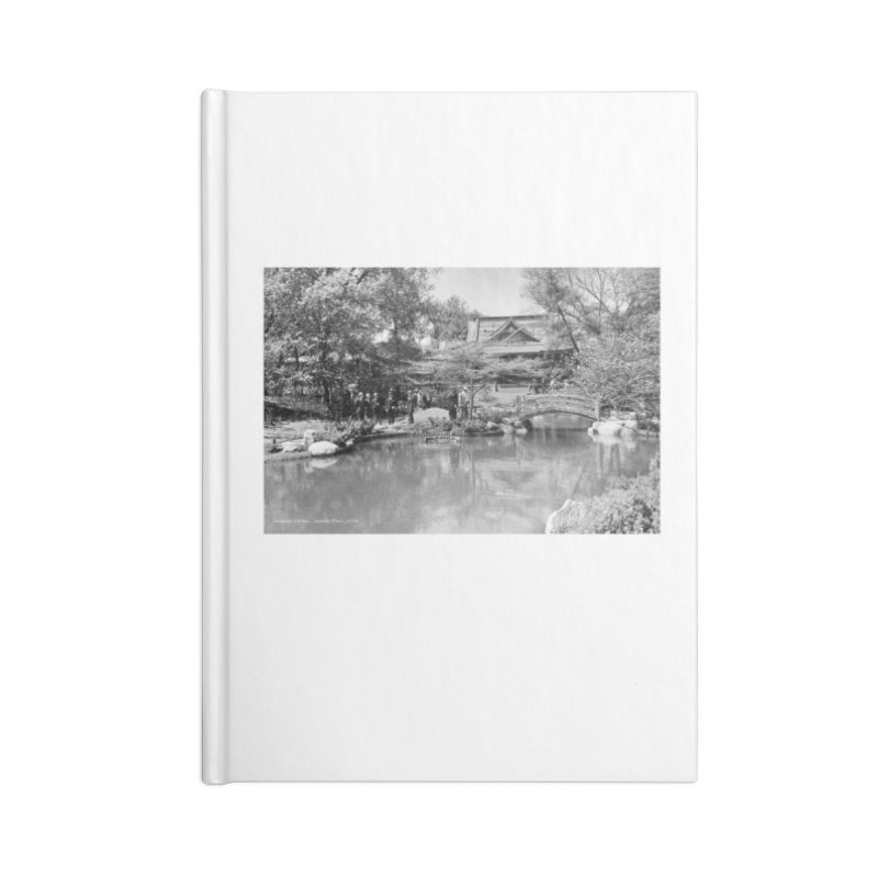 Vintage: Japanese Garden 1936 Accessories Blank Journal Notebook by chicago park district's Artist Shop