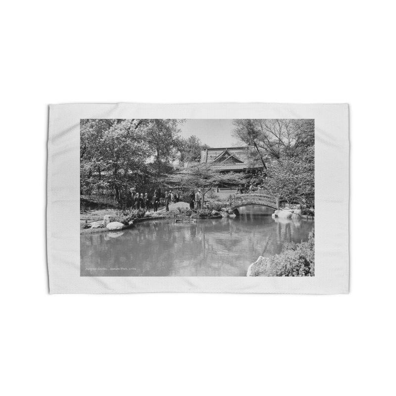 Vintage: Japanese Garden 1936 Home Rug by chicago park district's Artist Shop