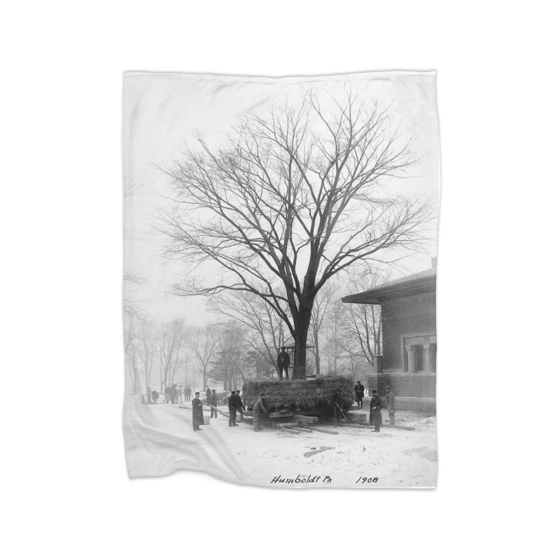 Vintage: Humboldt Park 1908 Home Blanket by chicago park district's Artist Shop