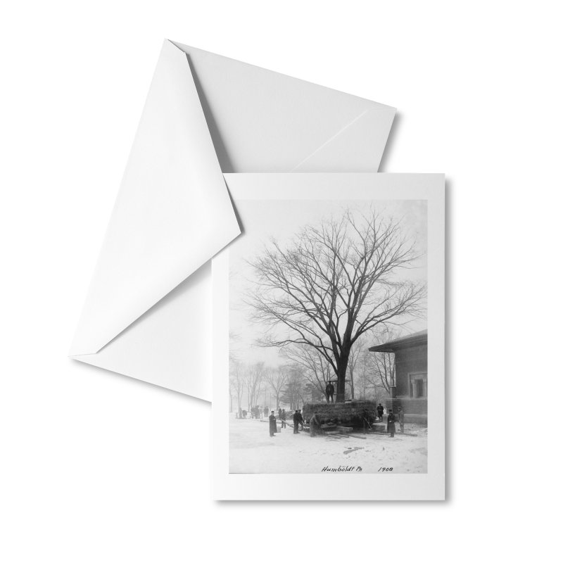 Vintage: Humboldt Park 1908 Accessories Greeting Card by chicago park district's Artist Shop