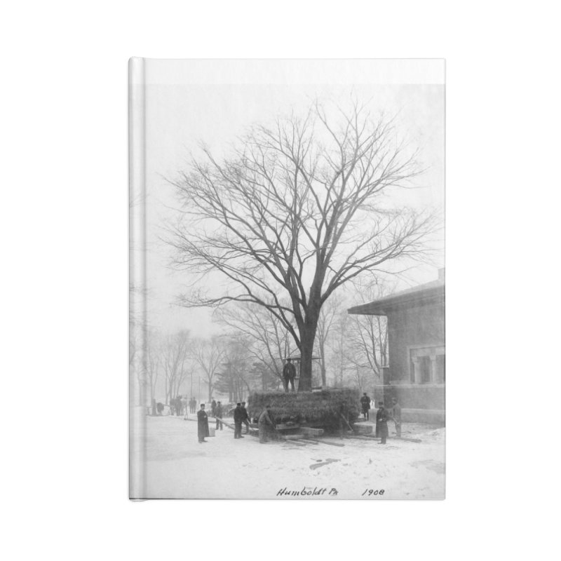 Vintage: Humboldt Park 1908 Accessories Blank Journal Notebook by chicago park district's Artist Shop