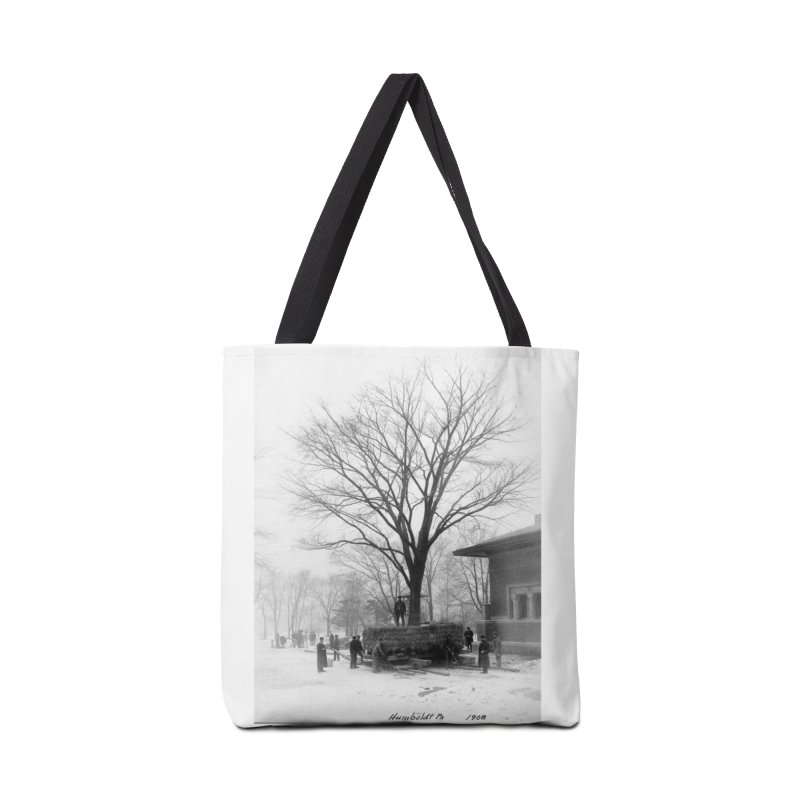 Vintage: Humboldt Park 1908 Accessories Tote Bag Bag by chicago park district's Artist Shop