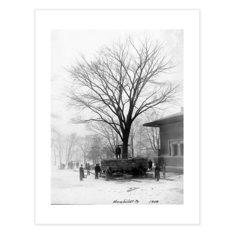 Vintage: Humboldt Park 1908 Home Fine Art Print by chicago park district's Artist Shop