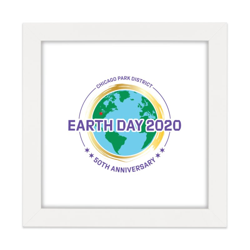 Earth Day 2020 Home Framed Fine Art Print by chicago park district's Artist Shop
