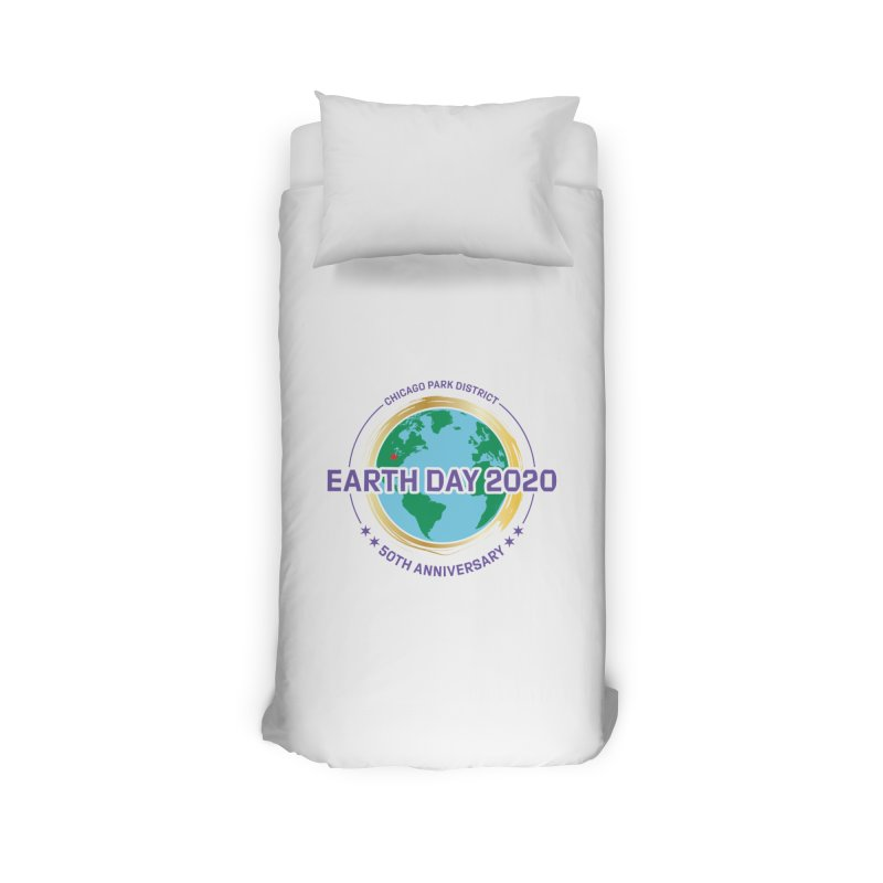 Earth Day 2020 Home Duvet by chicago park district's Artist Shop