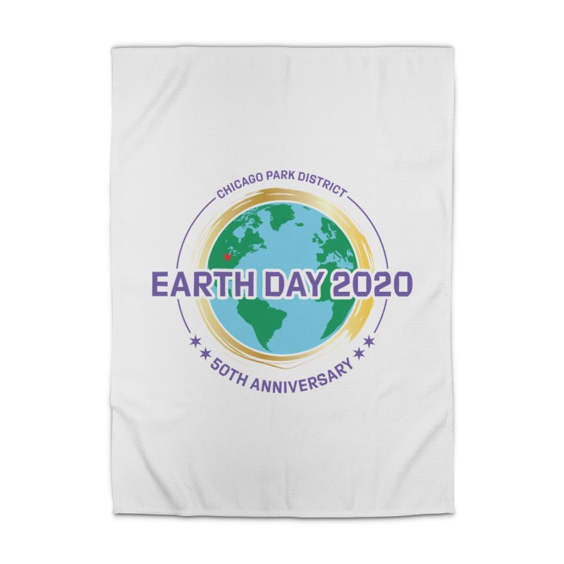 Earth Day 2020 Home Rug by chicago park district's Artist Shop