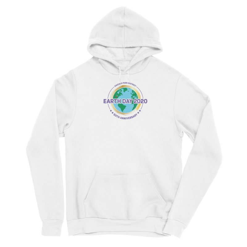 Earth Day 2020 Men's Pullover Hoody by chicago park district's Artist Shop