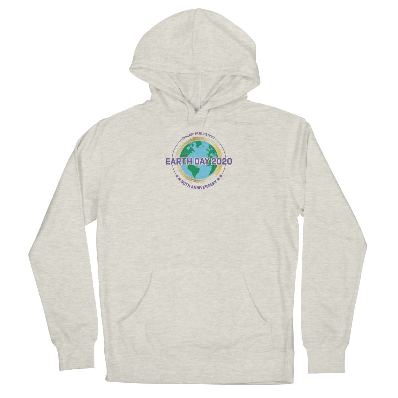 Earth Day 2020 Women's Pullover Hoody by chicago park district's Artist Shop
