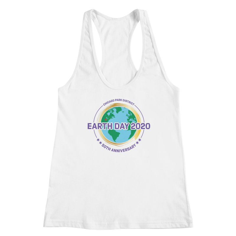Earth Day 2020 Women's Tank by chicago park district's Artist Shop