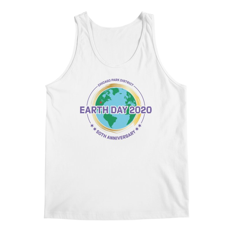 Earth Day 2020 Men's Tank by chicago park district's Artist Shop
