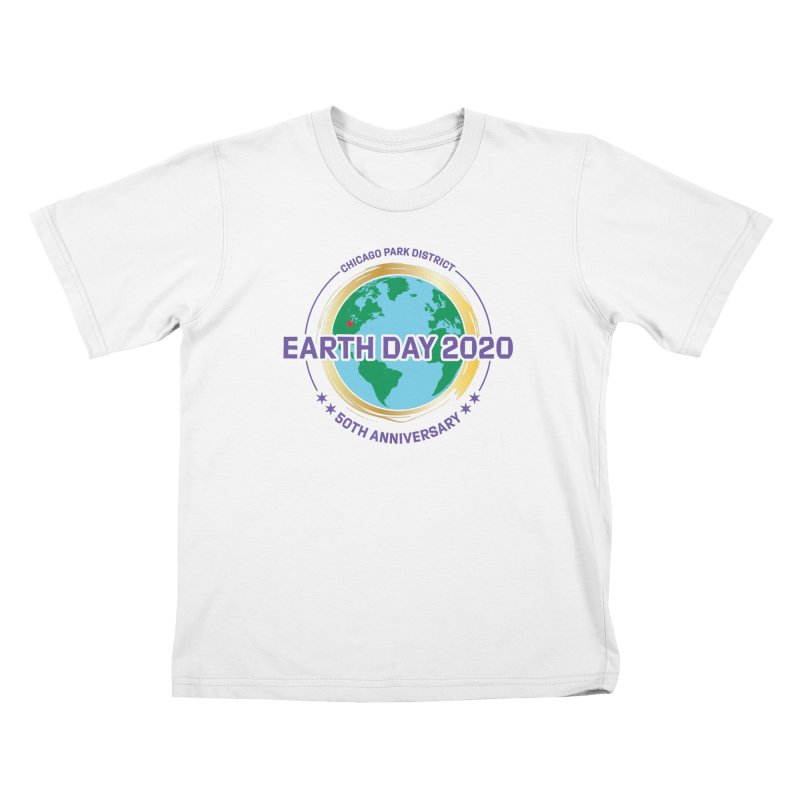 Earth Day 2020 Kids T-Shirt by chicago park district's Artist Shop