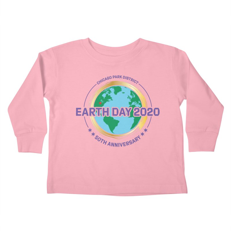 Earth Day 2020 Kids Toddler Longsleeve T-Shirt by chicago park district's Artist Shop