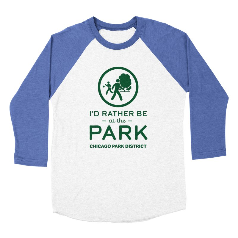 I'd Rather Be At The Park Women's Longsleeve T-Shirt by chicago park district's Artist Shop