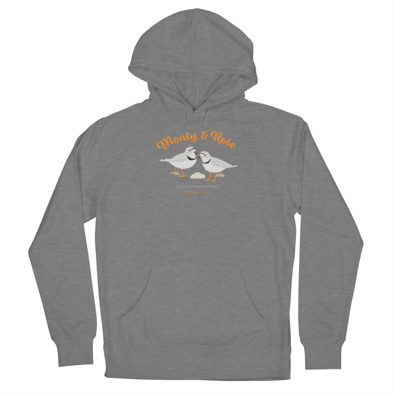 Monty & Rose at Montrose Beach Women's Pullover Hoody by chicago park district's Artist Shop
