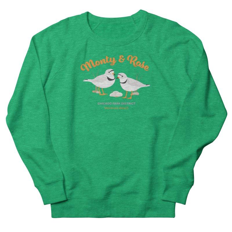 Monty & Rose at Montrose Beach Women's Sweatshirt by chicago park district's Artist Shop