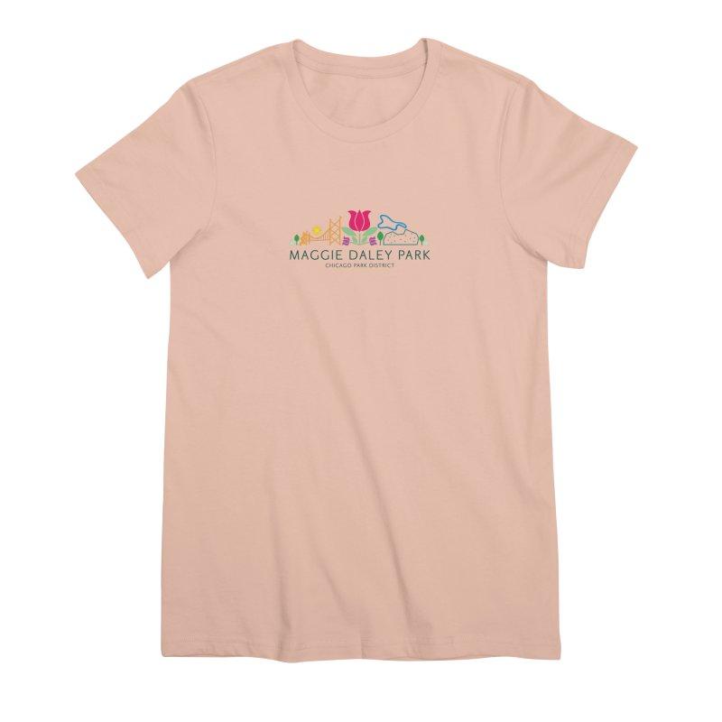 Maggie Daley Park Women's Premium T-Shirt by chicago park district's Artist Shop
