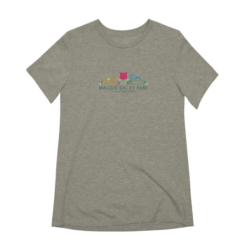 Maggie Daley Park Women's Extra Soft T-Shirt by chicago park district's Artist Shop