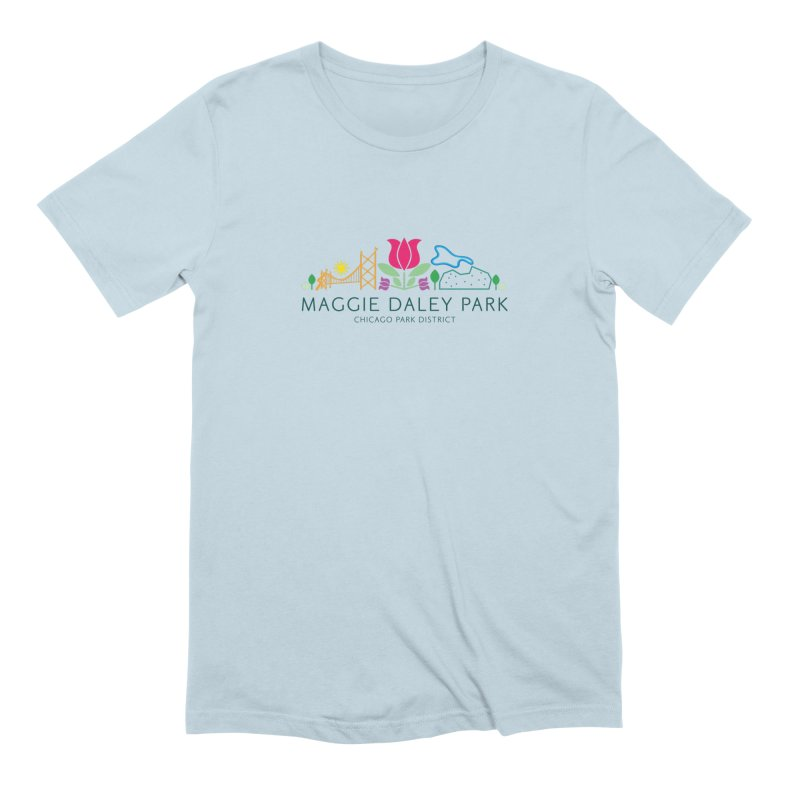 Maggie Daley Park Men's Extra Soft T-Shirt by chicago park district's Artist Shop