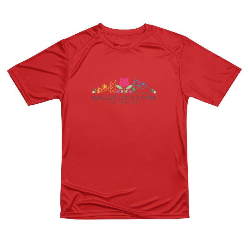 Maggie Daley Park Men's Performance T-Shirt by chicago park district's Artist Shop