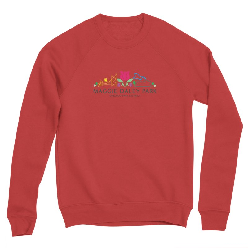 Maggie Daley Park Women's Sponge Fleece Sweatshirt by chicago park district's Artist Shop
