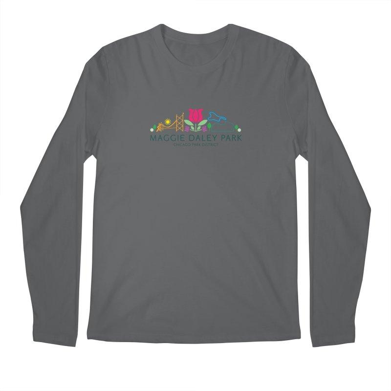 Maggie Daley Park Men's Longsleeve T-Shirt by chicago park district's Artist Shop