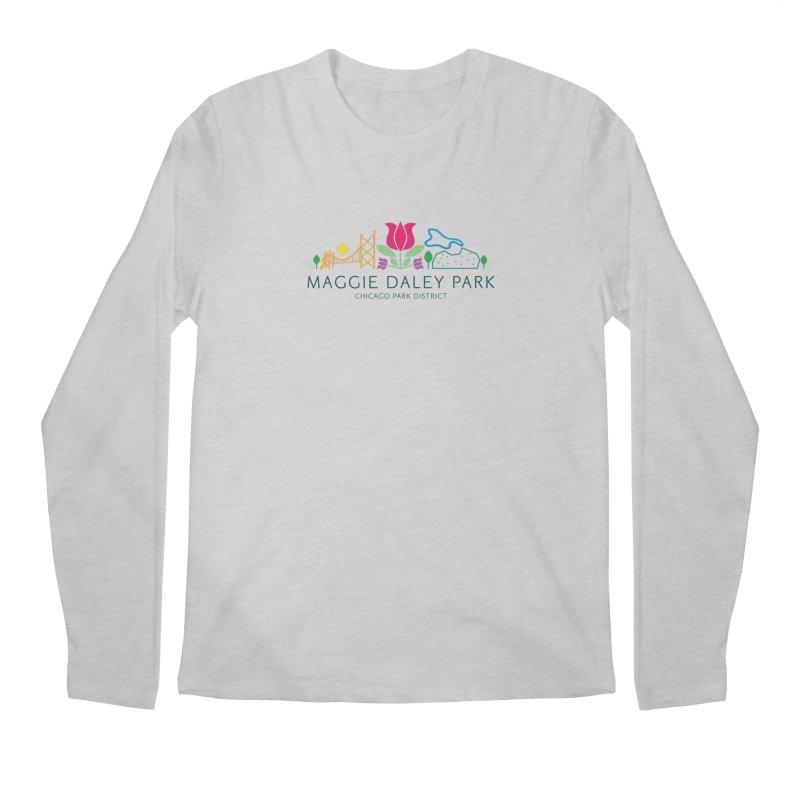 Maggie Daley Park Men's Regular Longsleeve T-Shirt by chicago park district's Artist Shop