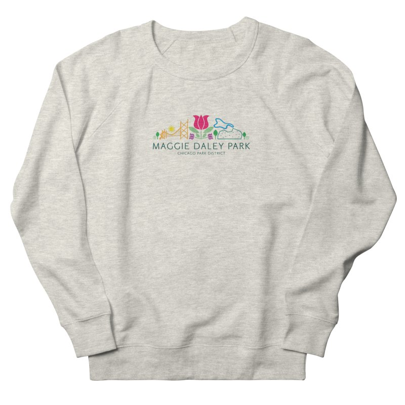 Maggie Daley Park Men's French Terry Sweatshirt by chicago park district's Artist Shop