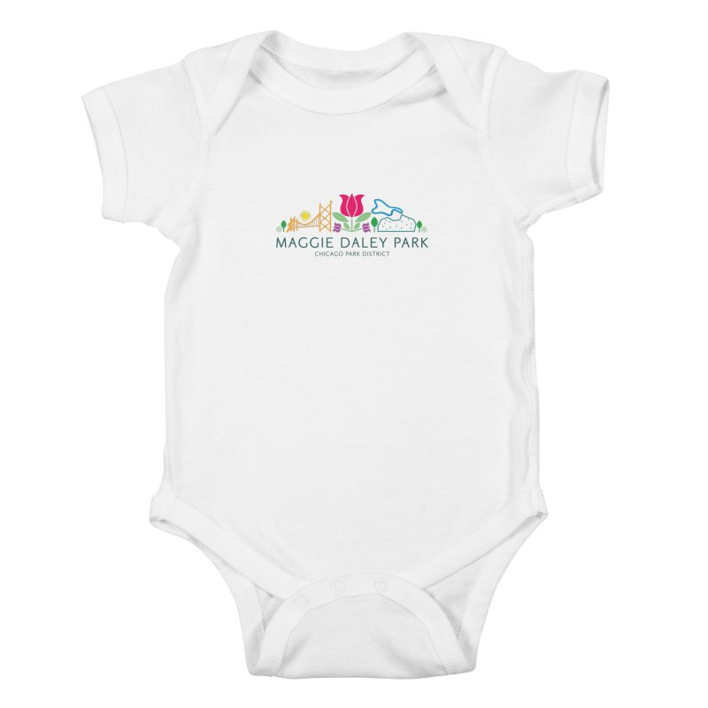 Maggie Daley Park Kids Baby Bodysuit by chicago park district's Artist Shop