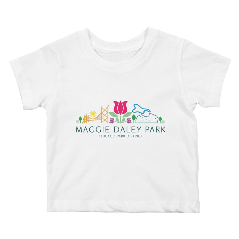 Maggie Daley Park Kids Baby T-Shirt by chicago park district's Artist Shop