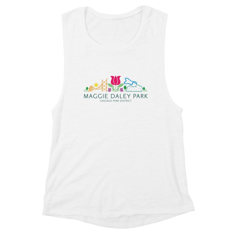 Maggie Daley Park Women's Muscle Tank by chicago park district's Artist Shop