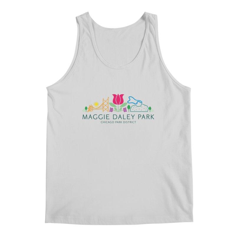 Maggie Daley Park Men's Regular Tank by chicago park district's Artist Shop