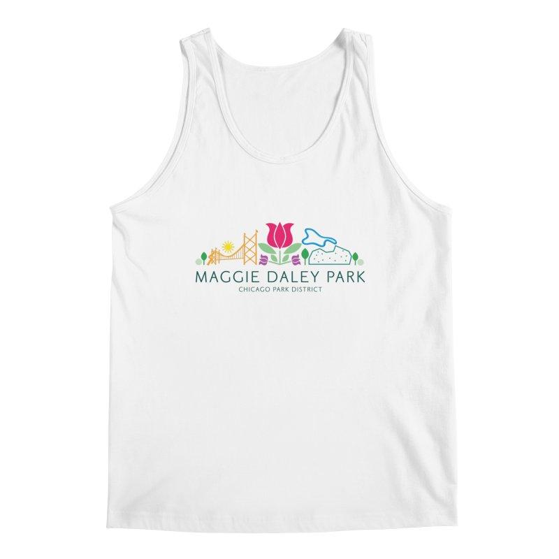 Maggie Daley Park Men's Tank by chicago park district's Artist Shop