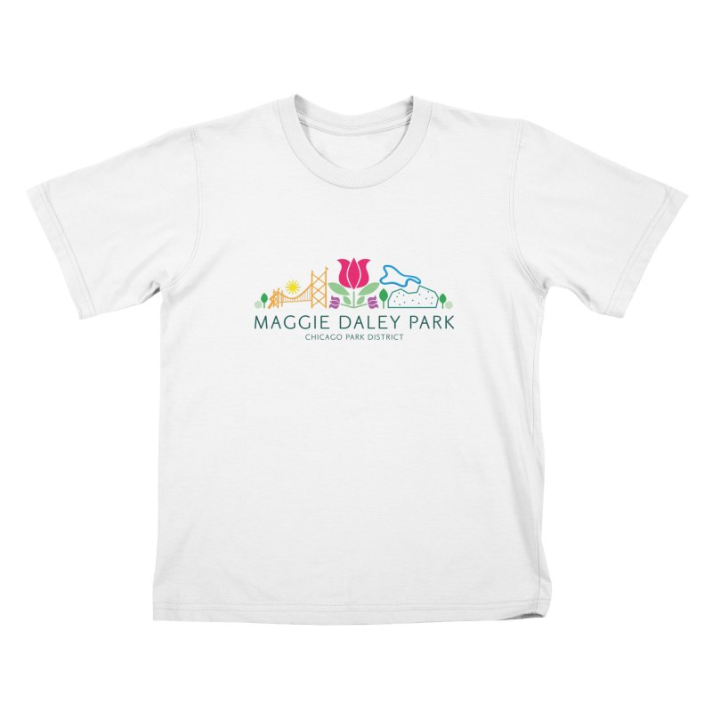 Maggie Daley Park Kids T-Shirt by chicago park district's Artist Shop