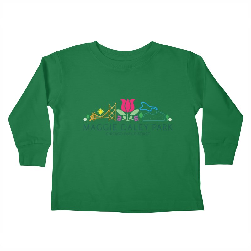 Maggie Daley Park Kids Toddler Longsleeve T-Shirt by chicago park district's Artist Shop
