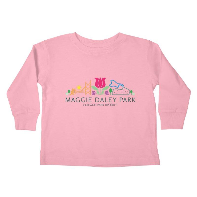 Maggie Daley Park Kids Toddler Longsleeve T-Shirt by chicago park district's Artist Shop