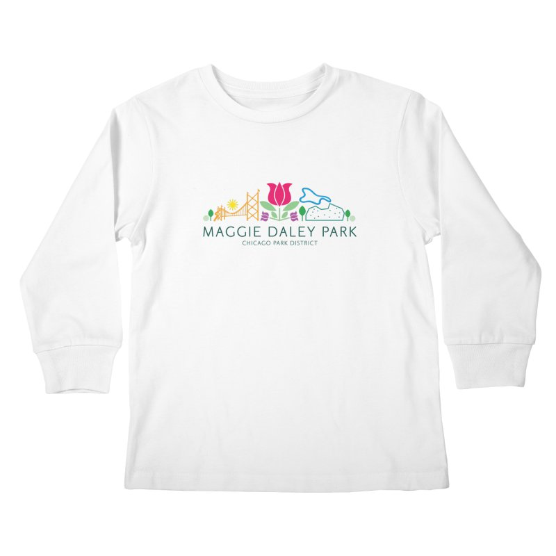 Maggie Daley Park Kids Longsleeve T-Shirt by chicago park district's Artist Shop