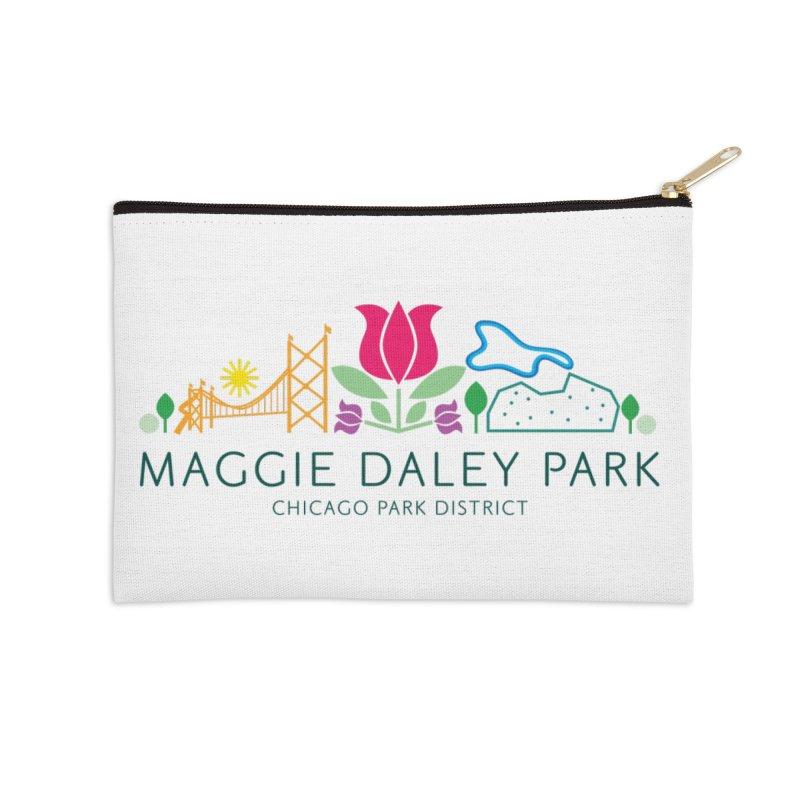 Maggie Daley Park Accessories Zip Pouch by chicago park district's Artist Shop