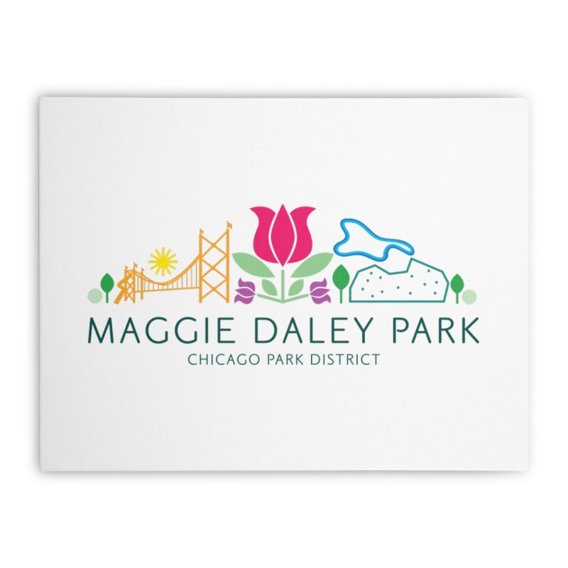 Maggie Daley Park Home Stretched Canvas by chicago park district's Artist Shop
