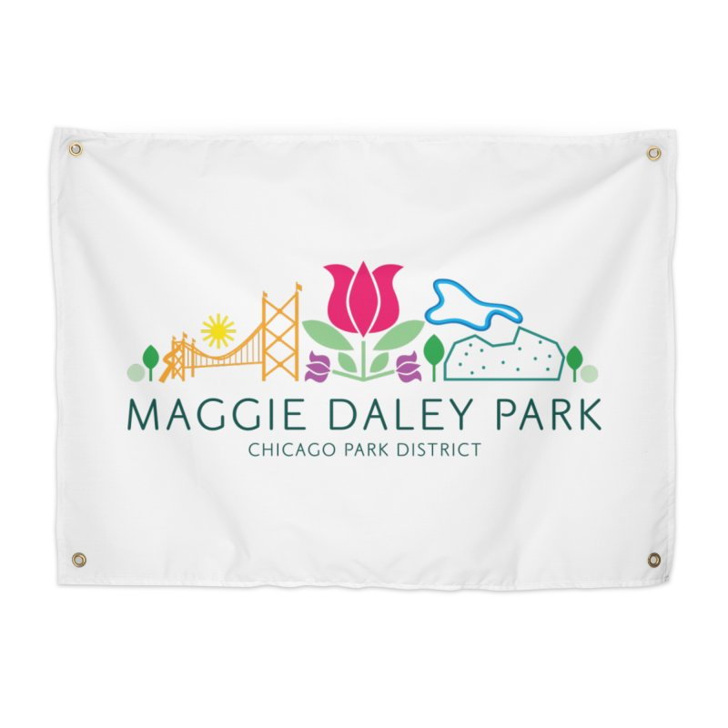 Maggie Daley Park Home Tapestry by chicago park district's Artist Shop