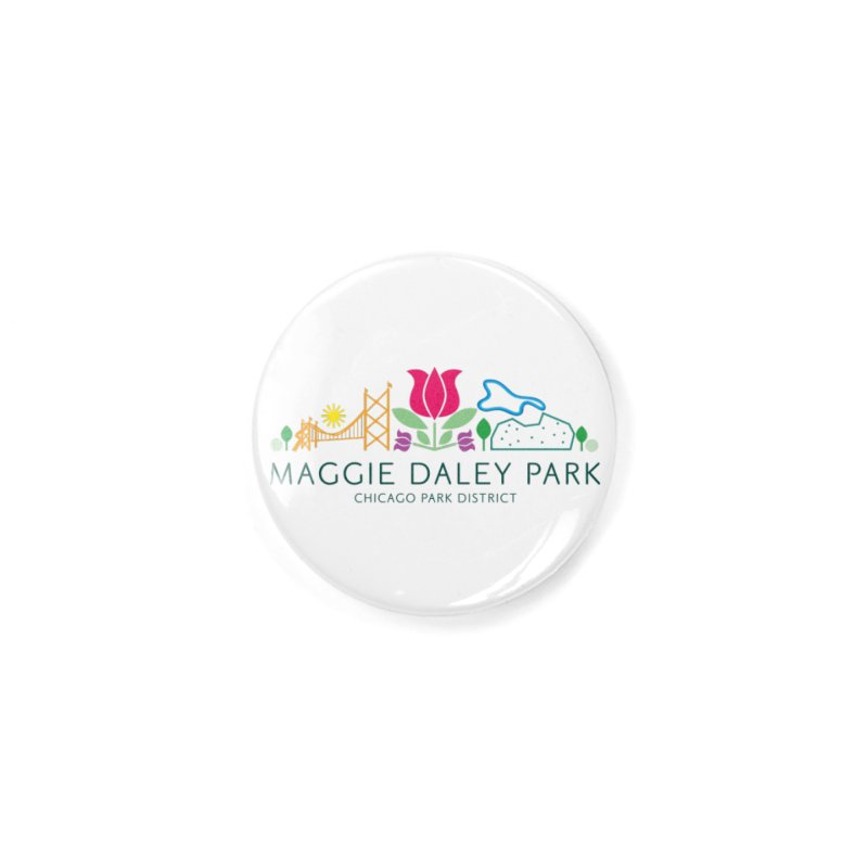 Maggie Daley Park Accessories Button by chicago park district's Artist Shop