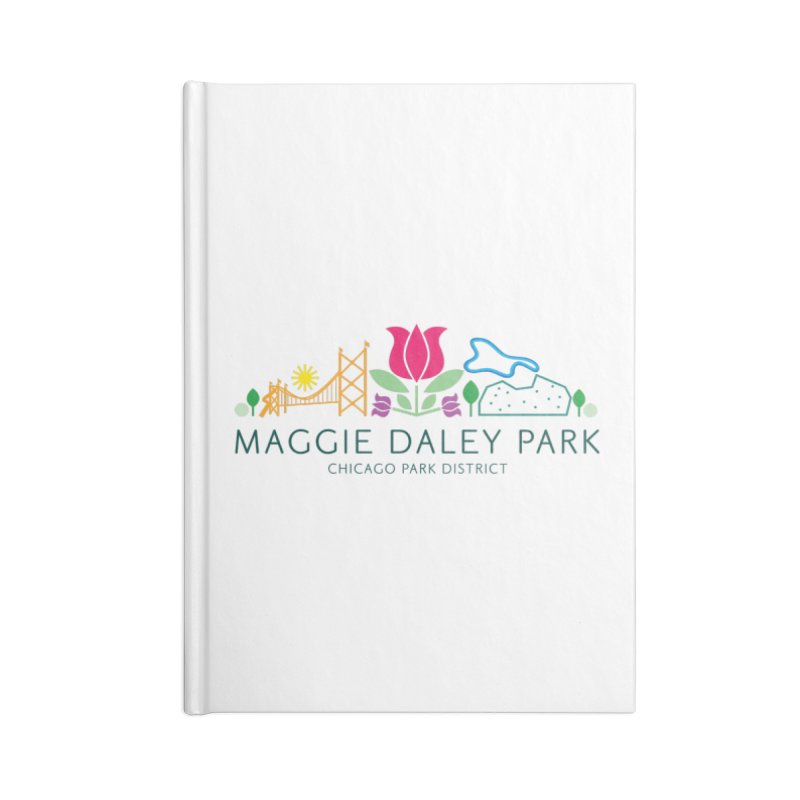 Maggie Daley Park Accessories Lined Journal Notebook by chicago park district's Artist Shop