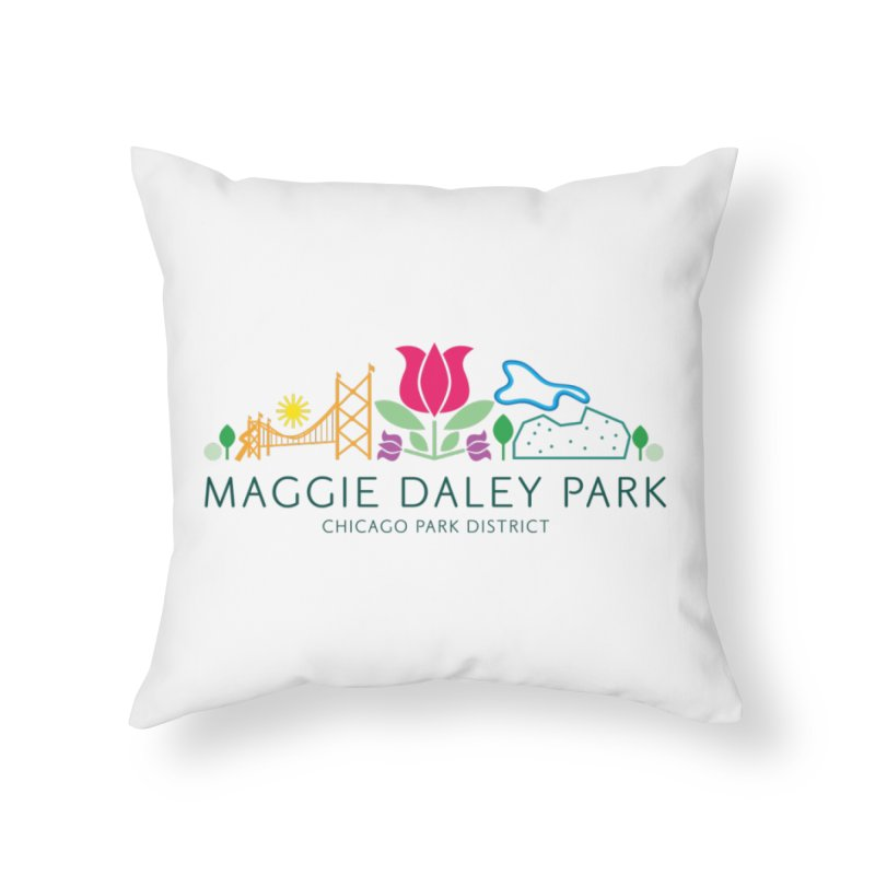 Maggie Daley Park Home Throw Pillow by chicago park district's Artist Shop