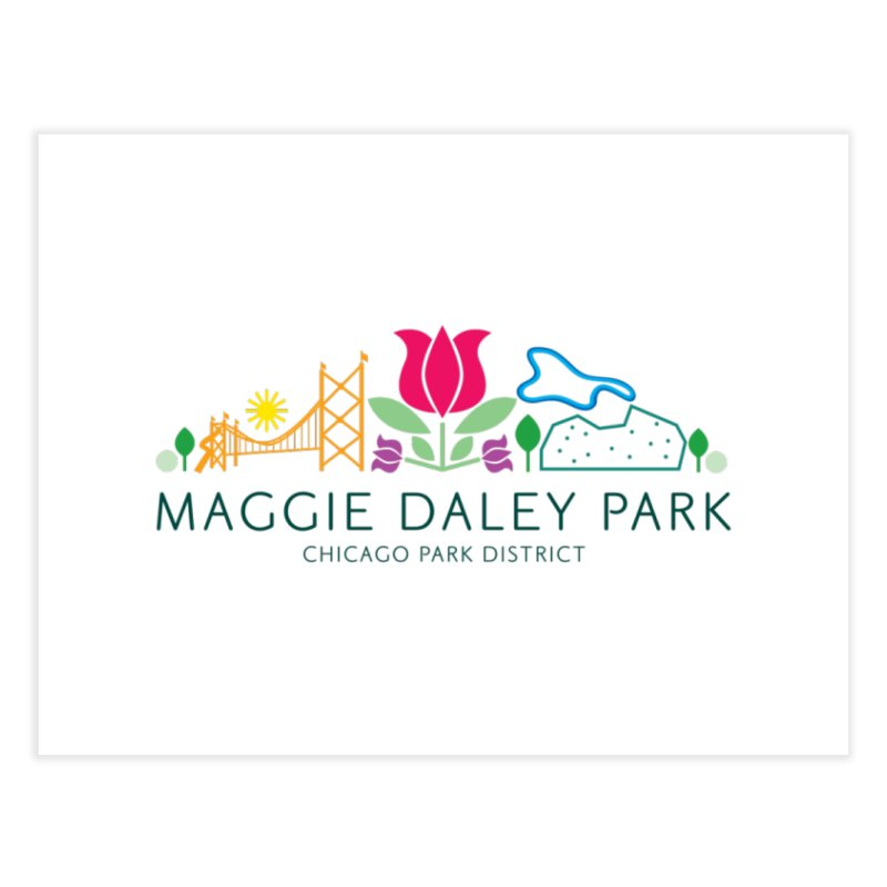 Maggie Daley Park Home Fine Art Print by chicago park district's Artist Shop